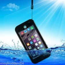 Custodia Nera Impermeabile Antiurto Antishock per iPhone 6 - Waterproof Cover