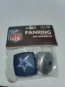 DALLAS COWBOYS NFL Foam Fan Rings Accessory Decoration Team Pride medium