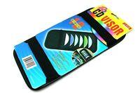 12 Disc Car CD Case  Sun Visor Storage DVD Holder Black Leather Pocket Organizer