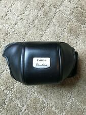 Genuine Black Leather Canon Powershot Eveready Camera Case-Very good condition