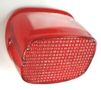 REPLACEMENT RED REAR TAILLIGHT LENS COVER HARLEY FL XL FX HD 68027-73 68034-77
