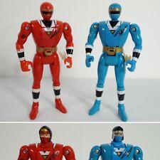 Vintage 1994 Bandai Power Rangers ALIEN RANGER Ninja Sentai Kakuranger Flip
