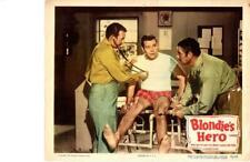 Blondie's Hero 1950 Original Release Lobby Card Arthur Lake