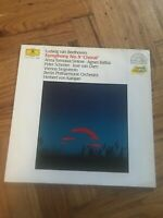 """Symphony No. 9 Choral : Ludwig Van Beethoven 12"""" Vinyl LP Free UK Postage"""
