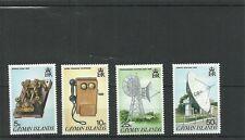 Isole Cayman sg617-620 cinquantesimo anniv del sistema di telecomunicazioni MNH