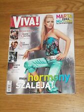 VIVA magazine 8 2003 Mandaryna on cover * The Police Sting * Tatu * Liya Kebede