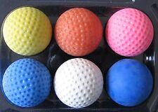 PRO-SET Minigolfbälle: 6x Minigolfball in verschiedenen Härten der Bälle *NEU*