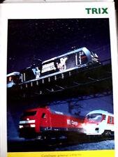Catalogo TRIX generale 1998-99 - FRA - Tr.12