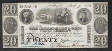 Maryland Obsolete $20 Note - Chesapeake & Ohio Canal Co - 1840 - AU
