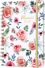 2021 2022 Daily Planner Calendar Organizer Monthly Diary Flexible Hardcover