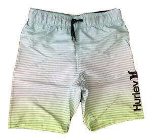 "New Hurley Swim Trunks Board Shorts Inseam 6.5"" Sz Boys 5 / 6 MSRP $38 (C23-1)"