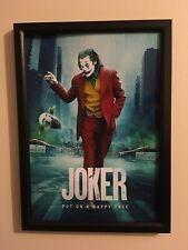 The Joker Movie 2019 A4 Framed Poster Print