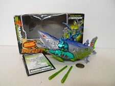 Transformers Beast Wars Transmetals 2 Cybershark Package & instructions !!!