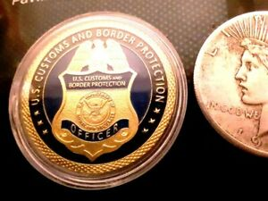 NEW U.S. CUSTOMS AND BORDER PROTECTION CHALLENGE COIN
