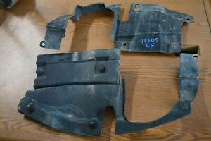 2006 07 08 09 10 11 12 FORD FUSION MILAN MKZ LEFT AND RIGHT ENGINE SHIELD COVERS