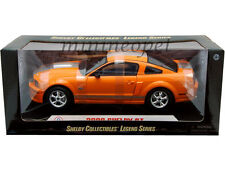COLLECTIBLES 2008 08 FORD SHELBY GT 1/18 ORANGE with SILVER STRIPES 291