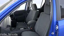 HILUX FRONT CANVAS SEATCOVERS DUAL CAB SR & SR5 9/15 ** TOYOTA GENUINE PARTS **