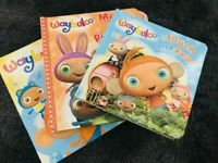 Waybuloo books Collection -3 Books SET- Touch and Feel Waybuloo Board Books NEW