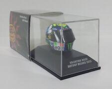 MINICHAMPS VALENTINO ROSSI MODELLINO AGV CASCO HELMET 1/8 GP MISANO 2015 MOTOGP