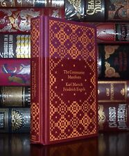 The Communist Manifesto by Karl Marx New Cloth Bound Hardcover Deluxe Edition