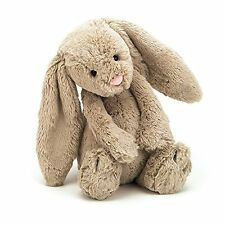 JELLYCAT  BASHFUL BEIGE BUNNY, MEDIUM -12""