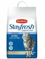 Bob Martin Stayfresh Hygeine Litter Clumping Ultra Cat Litter 5 Litre PACK 1/2
