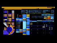 Framed Print - Star Trek Engineering Control Panel (Picture Poster Art Voyager)