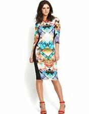 River Island Round Neck 3/4 Sleeve Dresses for Women