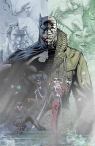 BATMAN #608 JIM LEE VIRGIN FOIL VARIANT B NM HUSH JOKER CATWOMAN HARLEY QUINN DC