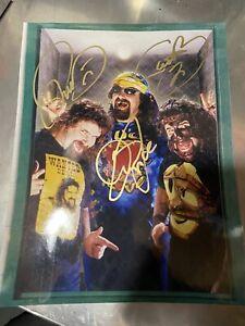 Mick Foley Signed 11x14 Cactus Jack, Dude Love, Mankind, Autograph WWE WWF