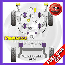 Opel Astra MK4 - G (98-04) SRi + GSi Powerflex Complete Bush Kit