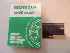 - Honda VFR 750 F  ab 1986 Werkstatthandbuch shop manual manuel d`atelier