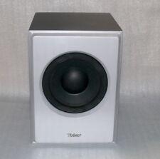 Tevion LSS 7.1 2005 Surround Aktive Bass Box Lautsprecher Holz 1000W PMPO Silber