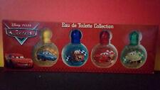 coffret parfum miniature collection pixar cars disney 4x7ml