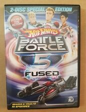 Hot Wheels Battle Force 5 Fused Dvd-Season 2 (2 Disc Special Edition)