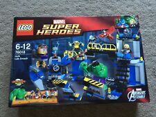LEGO Super Heroes 76018 Hulk Lab Smash - Brand New Sealed - Retired