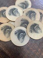 Vari Vue Vintage Flicker Monkey Disc Pre Button