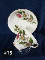 Regency Fine Bone China Teacup And Saucer Made In England