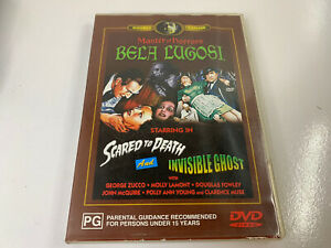 SCARED TO DEATH / INVISIBLE GHOST DVD Bela Lugosi