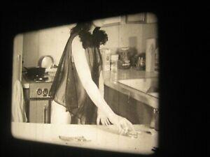 16MM FILM  - 1950s - SILENT - b/w -MODEL- # 16k Kitchen Queen