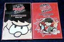 2 Sets of Dennis the Menace Postcards - Series One & Two, from The Beano - BNIW
