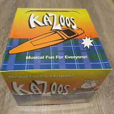 Jim Dunlop 7700 Scottys Kazoos Kunststoff farbig sortiert, Display Box 50 Stück