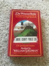 The Princess Bride 1st edition ex library William Goldman