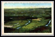 Woodstock Virginia Beautiful Shenandoah River Massanutten Mt Postcard