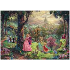 Puzzle Thomas Kinkade: Disney La Bella addormentata nel bosco - Schmidt 59474