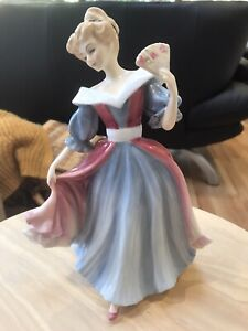 """Royal Doulton Figure Of The Year 1991 - """"Amy"""" HN 3316"""