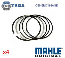 4x NEW ENGINE PISTON RING SET MAHLE ORIGINAL 082 72 N0 I OE REPLACEMENT
