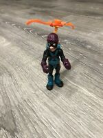 Vintage Police Academy Claw Cat Burglar Action Figure w/backpack Kenner 1988