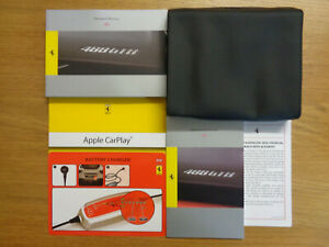 Ferrari 488 GTB Owners Handbook/Manual and Pack