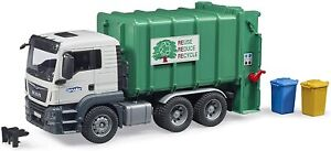 Bruder MAN TGS Rear Loading Garbage Kids Toy Truck 03763 NEW SAME DAY SHIP